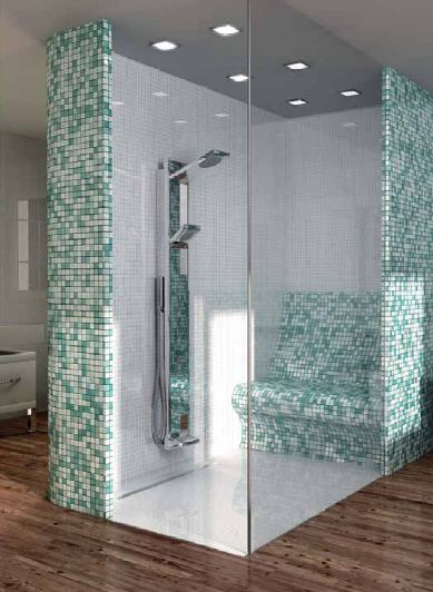 fliesen mosaik dusche kreative bilder f r zu hause design inspiration. Black Bedroom Furniture Sets. Home Design Ideas