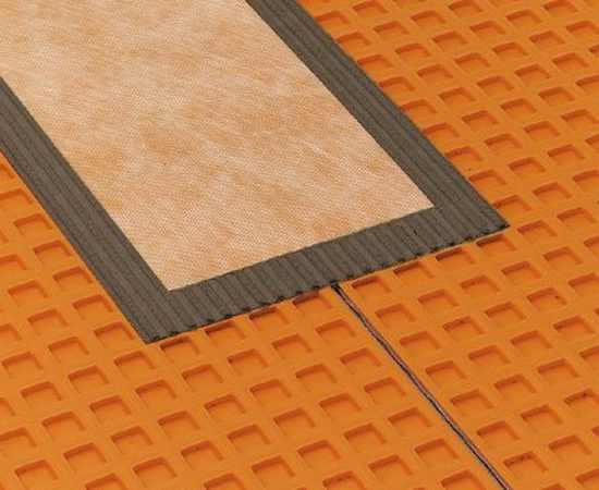 Entkopplungsmatte schl ter ditra ditramatte schl ter matten fliesen verlegen potsdam berlin - Fliesen auf holzboden entkopplungsmatte ...
