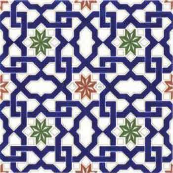 Orientalische Fliesen Andalusische Historisch Arabische Spanische