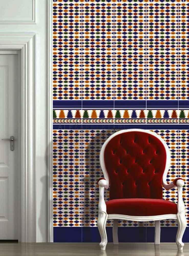 orientalische arabische spanische andalusische Fliesen blau Preis, kaufen, H�ndler Gaya Fores Berlin Potsdam
