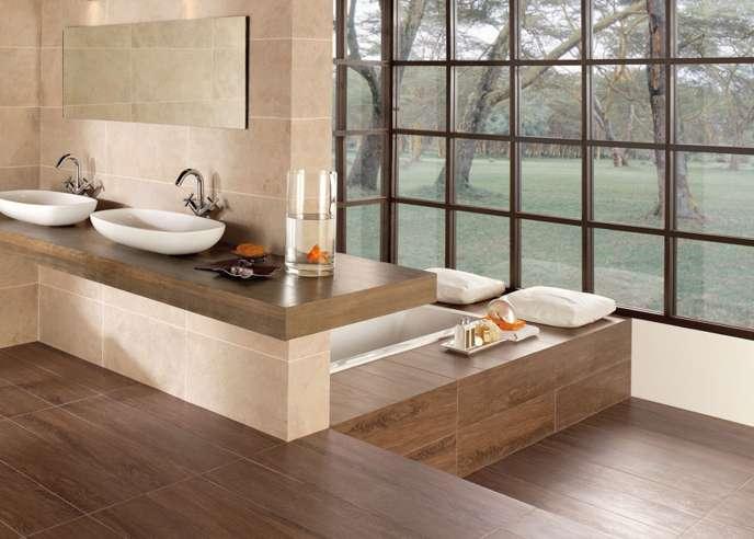 moderne bader mit holz badezimmer wohnzimmer wohnzimmer design - Moderne Bder Mit Holz
