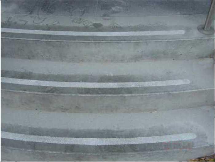 Betontreppe geschliffen geglättet, Steinboden, Betonboden schleifen, polieren und kristallisieren