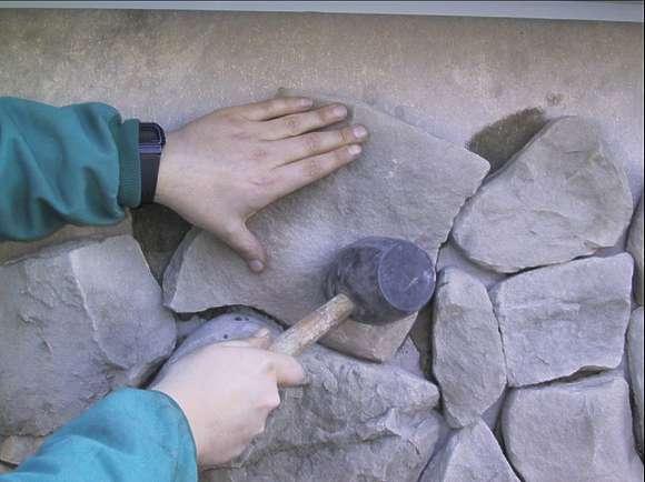 Gut bekannt Wand Verblender, Steinriemchen, Steinverblender Wandverkleidung PC15