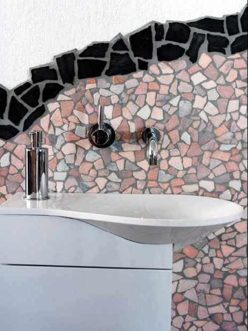 Bruchmosaik auf Netz Fliesen,  Bruchplatten, Bruch Fliesen Mosaikbruch, Marmorbruchmosaik Preis, kaufen, Händler Potsdam Berlin