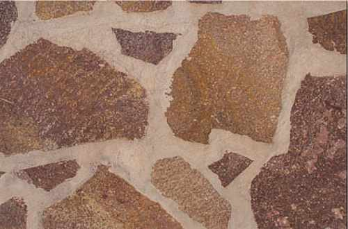 Naturstein Polygonalplatten Quarzit Porphyr rot, Kalkstein, Sandstein, Schiefer, Polygonalplatte Terrasse, Bruchplatten Berlin, Potsdam, Brandenburg