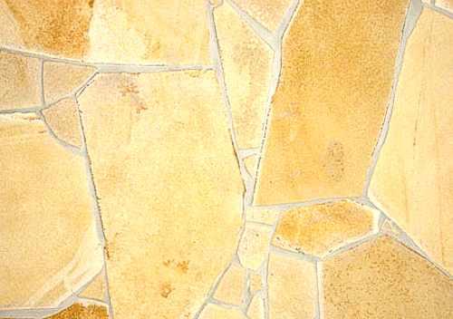 Naturstein Polygonalplatten Solnhofer Kalkstein gelb, Quarzit, Kalkstein, Sandstein, Polygonalplatte Terrasse, Bruchplatten Berlin, Potsdam, Brandenburg