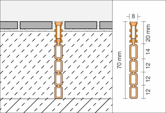 Fliesenschienen, Dehnungsprofil, Dehnprofil Schlüter Dehnungsprofile, Berlin, Potsdam, Brandenburg