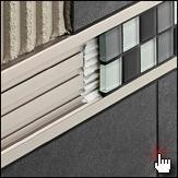 dekoprofile fliesen dekoprofil metallprofil f r fliesen in berlin potsdam und brandenburg. Black Bedroom Furniture Sets. Home Design Ideas