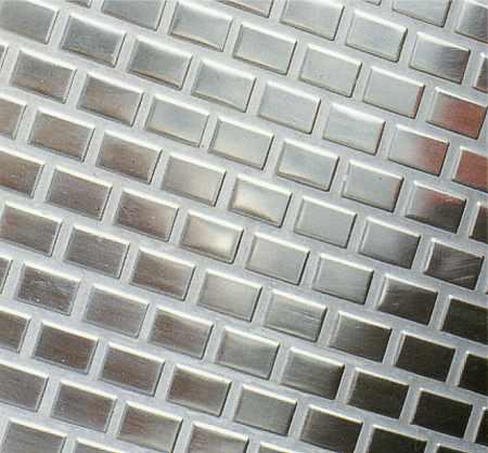 Metallmosaik Edelstahl, Edelstahl Mosaik, Edelstahlmosaik Berlin, Potsdam, Brandenburg