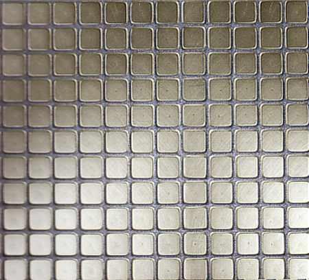 Edelstahlmosaik, Metall Mosaik – Edelstahl Mosaik - Metallmosaik Potsdam, Berlin, Brandenburg
