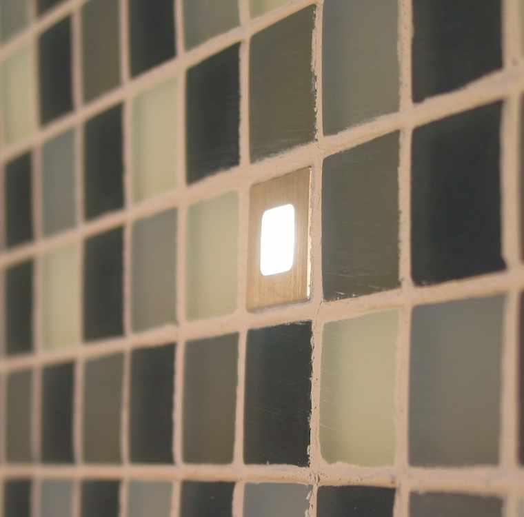 Lichtakzentpunkte, Einbaustrahler Fliesenlicht Dotspot Dot ...