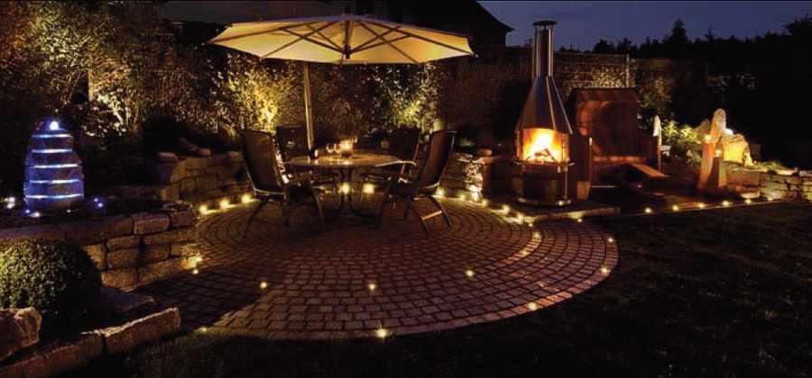 einbauspots einbaulampen einbaustrahler effektbeleuchtung stein fliesen. Black Bedroom Furniture Sets. Home Design Ideas