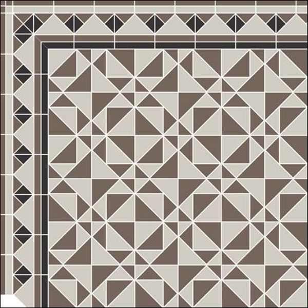 Treppenhaus Fliesen Für Alte Klassische Hauseingänge Victorianische - Alte mosaik fliesen