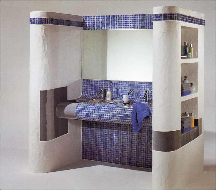 ein mosaiktisch f rs bad waschplatz heimwerken. Black Bedroom Furniture Sets. Home Design Ideas