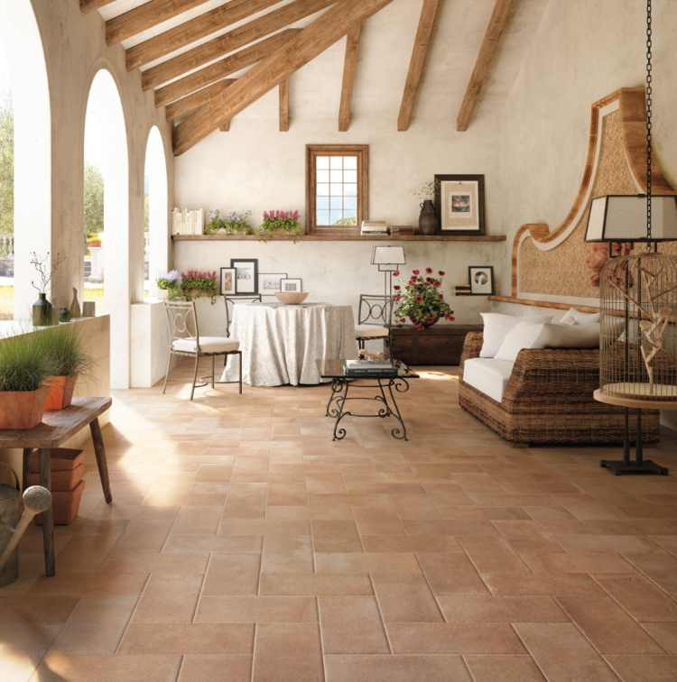 fliesen in cottooptik cottofliesen terrakotta kaufen. Black Bedroom Furniture Sets. Home Design Ideas