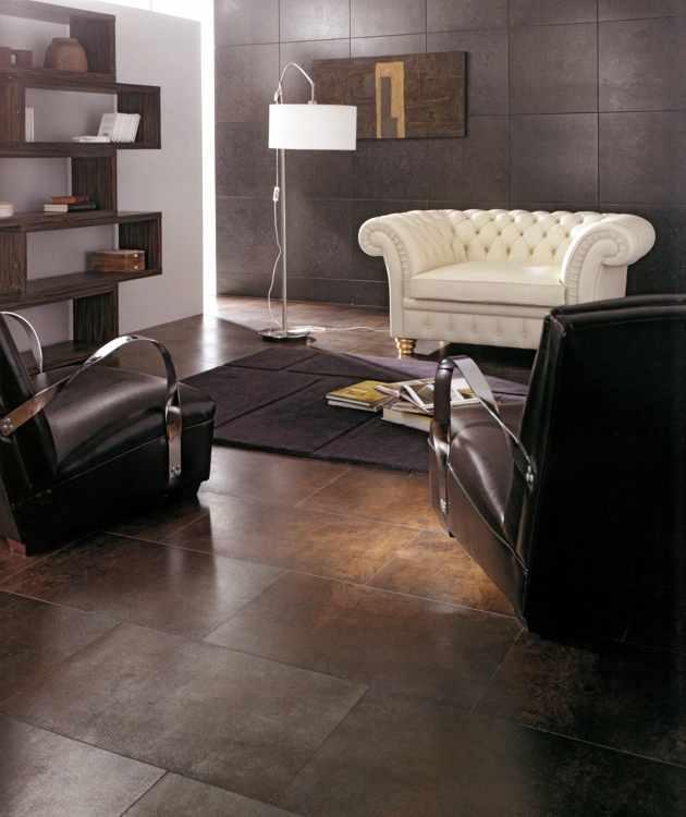 wohnzimmerfliesen wohnzimmer fliesen rostfarben. Black Bedroom Furniture Sets. Home Design Ideas
