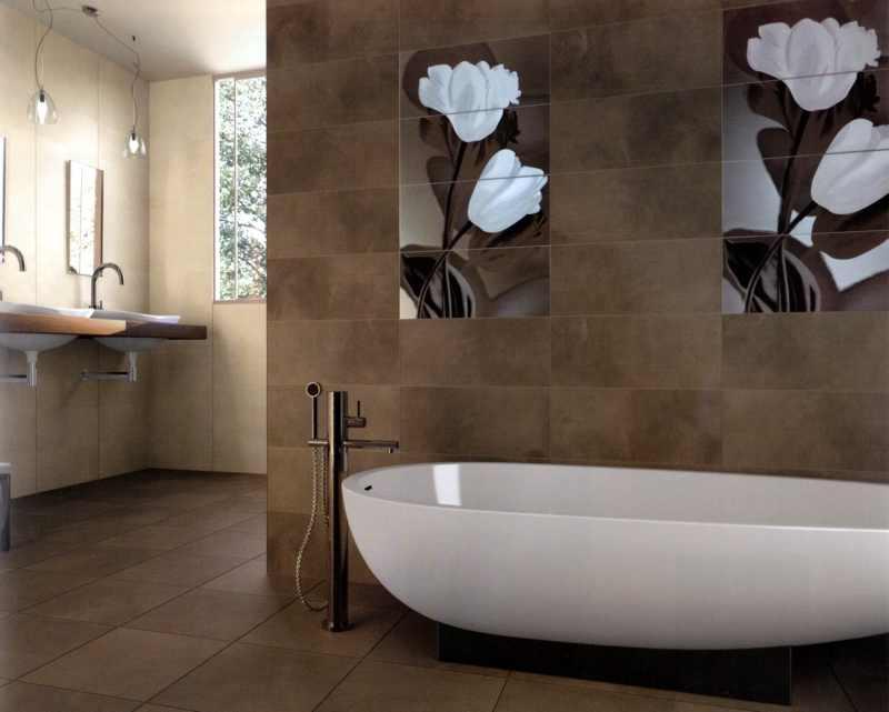Bad Wandfliesen. Tolle Badezimmer Fliesen Designs Zum Inspirieren ...