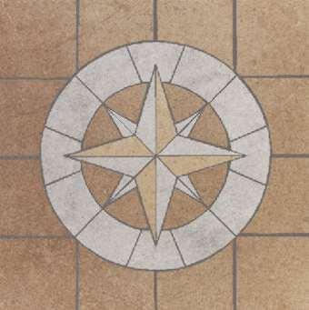 Marmor Fliesen Naturstein Rosette, Rosonen, Windrose Rosone Fliesenrosette Berlin, Potsdam, Brandenburg