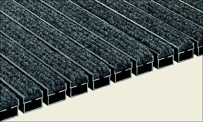 fu matte sauberlaufzone schmutzmatte abtreter eingangsbereich ripsstreifen. Black Bedroom Furniture Sets. Home Design Ideas