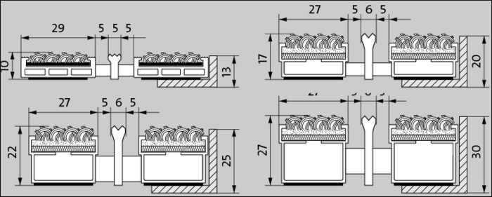 fu matte sauberlaufzone schmutzmatte abtreter eingangsbereich ripsstreifen kratzkante ma e. Black Bedroom Furniture Sets. Home Design Ideas