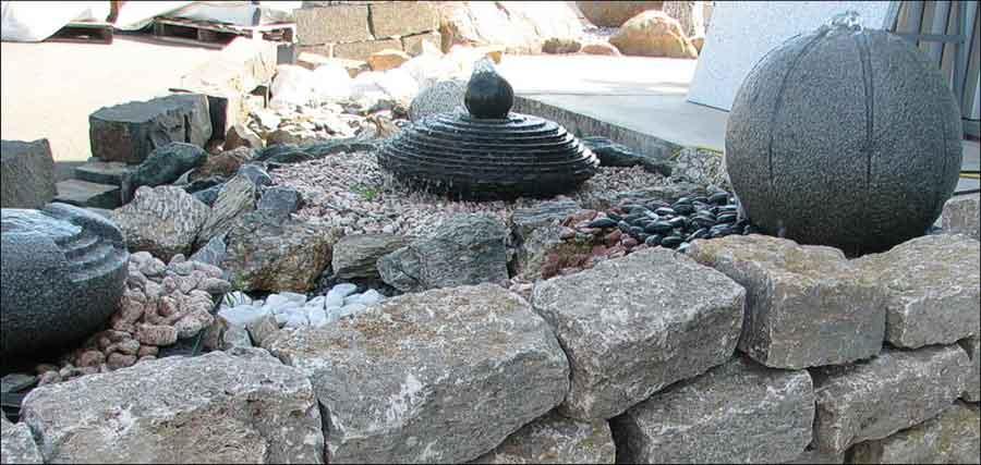Garten brunnen figuren for Steinbrunnen garten selber bauen