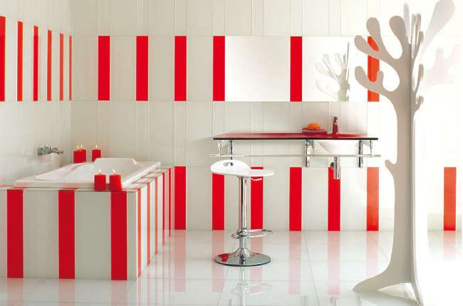 idee k chenwand rot k chenwand rot and idees. Black Bedroom Furniture Sets. Home Design Ideas