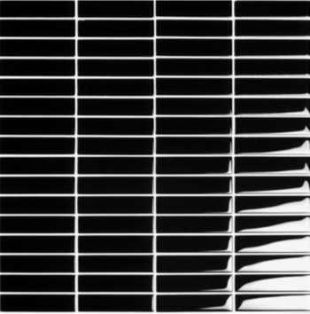Streifenmosaik schwarz Glasmosaik, Glas Mosaik, Glasmosaikfliesen Glasmosaik Fliesen Sicis, Trend, Bisazza, Dusche Berlin, Potsdam, Brandenburg