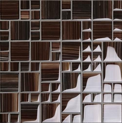Dusche mosaik streifen artownit for for Dusche mosaik