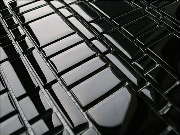 Glasmosaik Glas Mosaik Glasmosaikfliesen Sicis Mosaik Bisazza - Mosaik fliesen schwarz matt