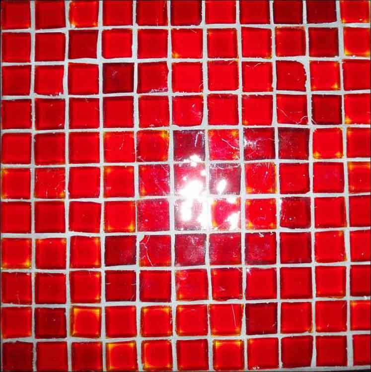 Glasmosaik antik Antikglas rot, Glas Mosaik, Mosaik Glas transparent Berlin, Potsdam, Brandenburg