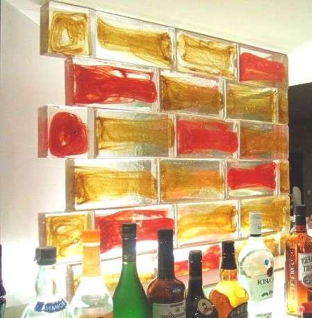 Glasbaustein, Glassblock, Muranoglas Berlin, Potsdam, Brandenburg