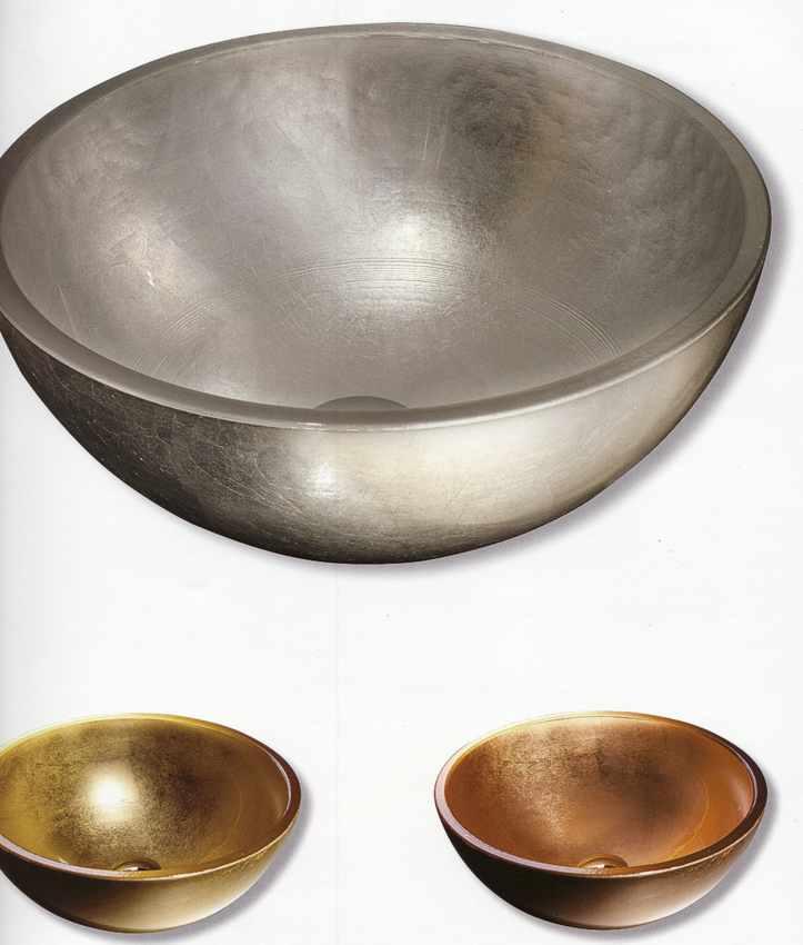 Glaswaschtisch Glas Waschtisch Color Silber, Kupfer, gold Berlin, Potsdam