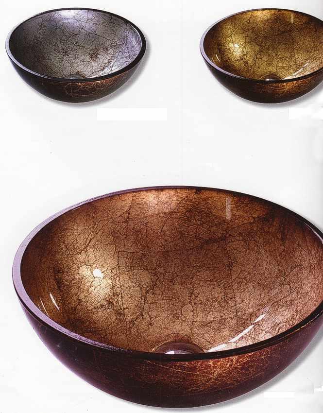 Glaswaschtisch Glaswaschtisch Color Kupfer, Gold, Silber Berlin, Potsdam