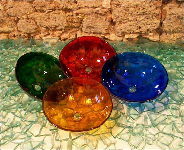 Glaswaschtisch Color Berlin, Potsdam