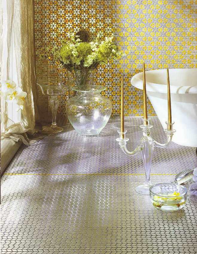 Gold Mosaik, Goldmosaik, Gold Wand, Berlin, Potsdam, .