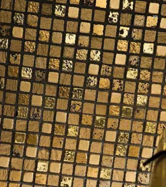 Goldfliesen Goldmosaik Fliesen Vergoldet Gold Fliesen Mosaik