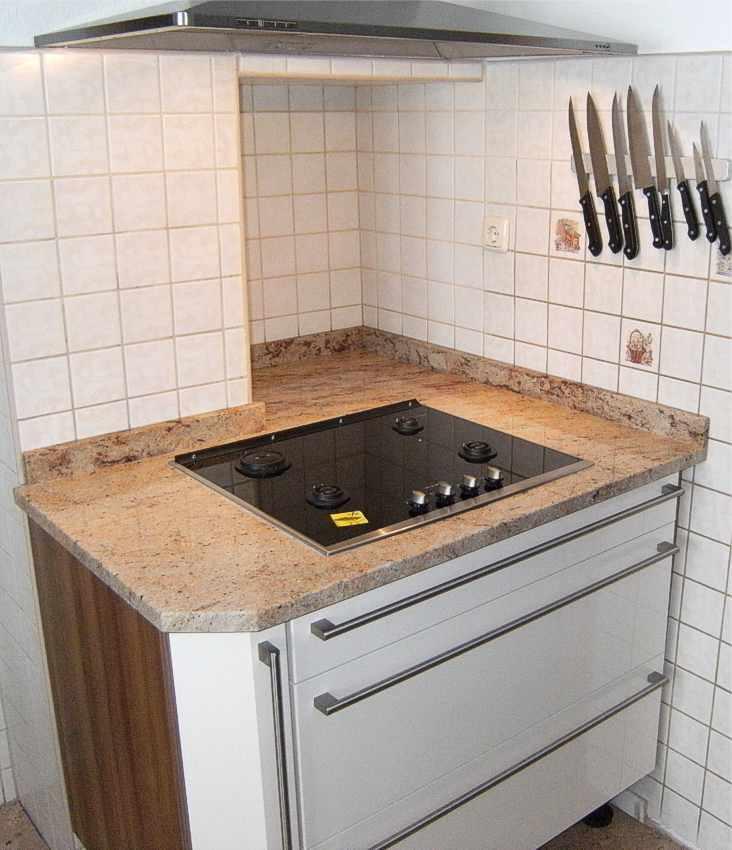 Kuchenarbeitsplatten granitarbeitsplatten granit for Travertin arbeitsplatte
