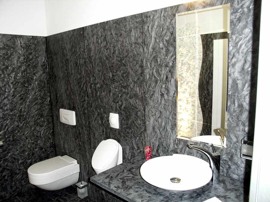 Bad Granit fliesen naturstein mosaik kunststein glasmosaik