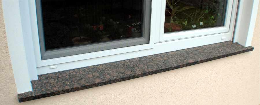 Fensterbank Naturstein Granit Marmor Sandstein Schiefer