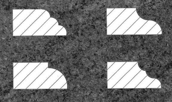 Kuechenarbeitsplatte, Arbeitsplatte Granit Profilkanten, Küchenarbeitsplatte Granit, Granitarbeitsplatte,  Küchenarbeitsplatten  Arbeitsplatten Berlin Potsdam