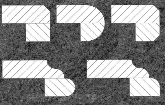 Kuechenarbeitsplatte Profile, Arbeitsplatte Granit, Küchenarbeitsplatte Granit, Granitarbeitsplatte,  Küchenarbeitsplatten  Arbeitsplatten Berlin Potsdam
