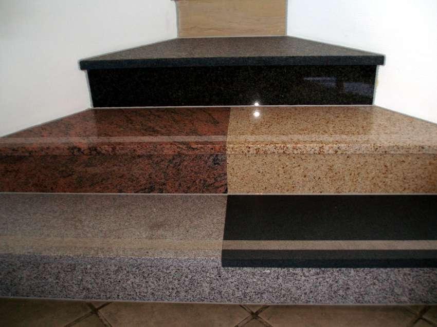 treppe naturstein verschiedene treppen granit. Black Bedroom Furniture Sets. Home Design Ideas