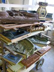 verschiedenen Formen Historische Kacheln, Historische Fliesen, antik Fliesen, Alte Fliesen, Jugendstilfliesen Berlin, Potsdam, Brandenburg