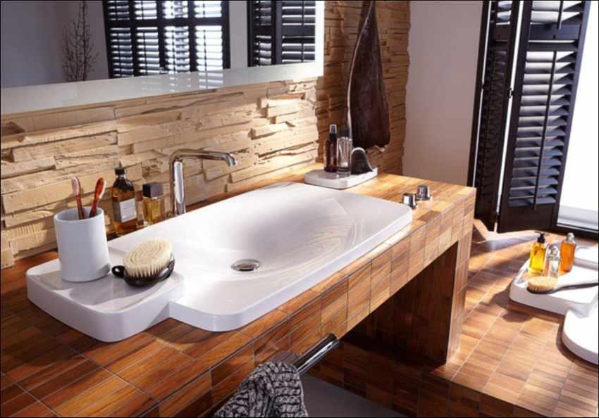 Holz Mosaik Fliesen, Holzmosaik