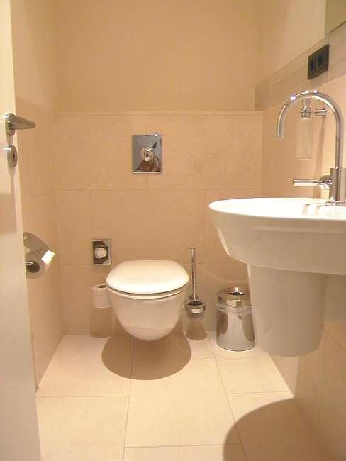 solnhofener platten im badezimmer, kalkstein fliesen, platten, mosaik, mauer, kalksteinfliesen, Innenarchitektur
