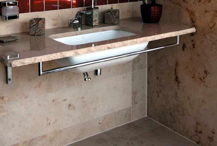 waschtisch selber bauen granit. Black Bedroom Furniture Sets. Home Design Ideas