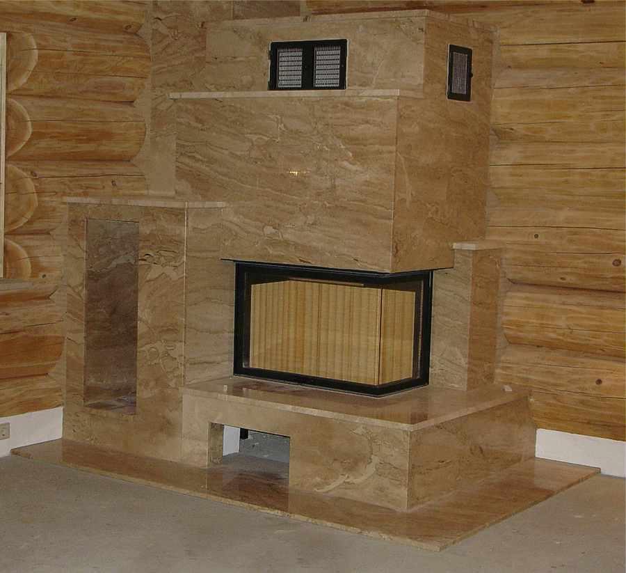 Berühmt Kamin Naturstein, Kaminverkleidung, Verkleidung Kamine Stein NI18