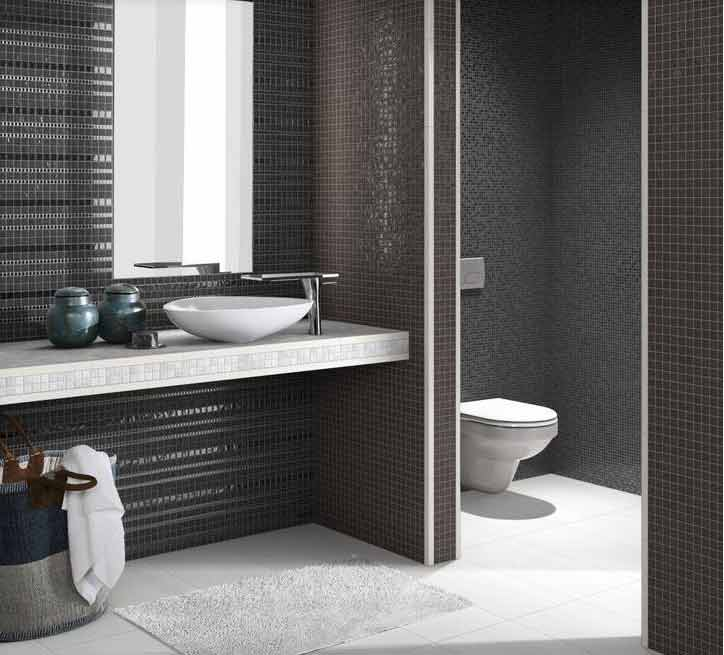 mosaik fliesen dusche. Black Bedroom Furniture Sets. Home Design Ideas