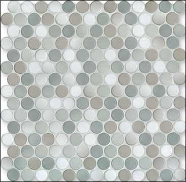Jasba Knopfmosaik, Rundmosaik blau für Badezimmer, Bad, Wellness kaufen, Preis Berlin, Potsdam, Brandenburg