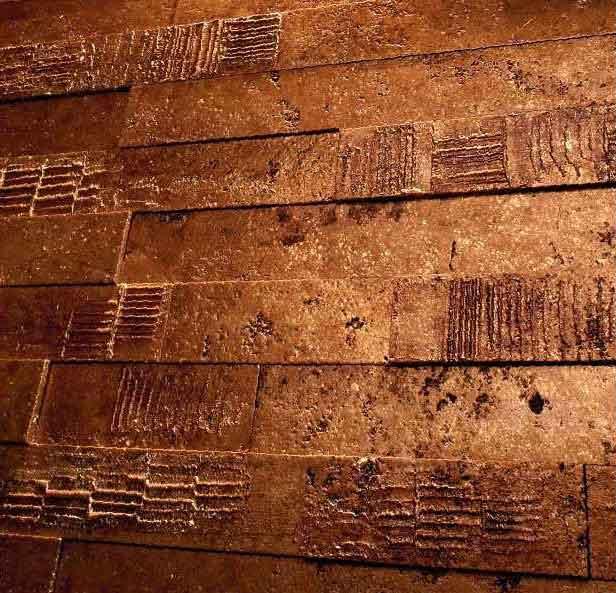 Kupferfliesen Kupfermosaik Fliesen Verkupfert Kupfer Fliesen
